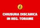 Chiusura Discarica Reg. Torame