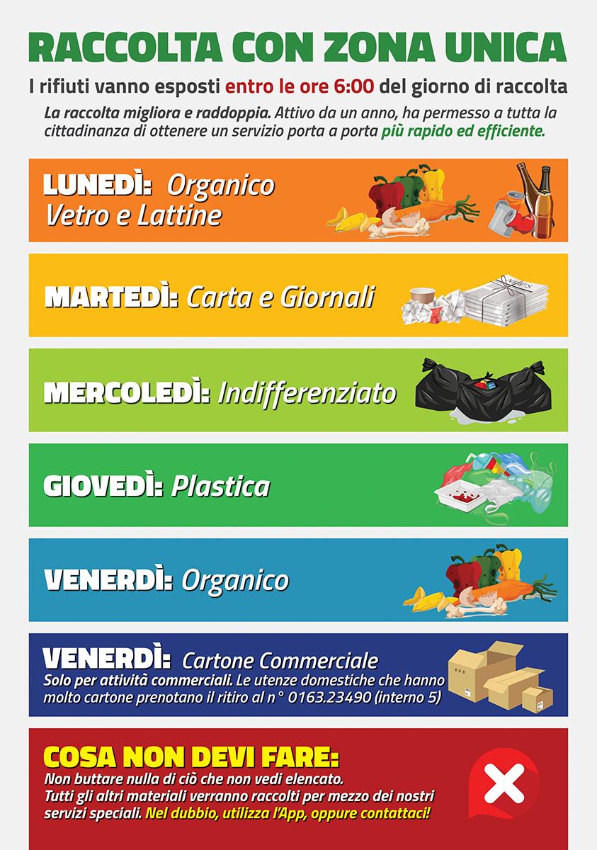 calendario raccolta rifiuti borgosesia