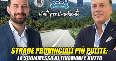 Progetto Pilota SESO per la pulizia strade Provinciali